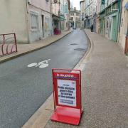 Dauphiné Article sur chevalet à Saint-Péray